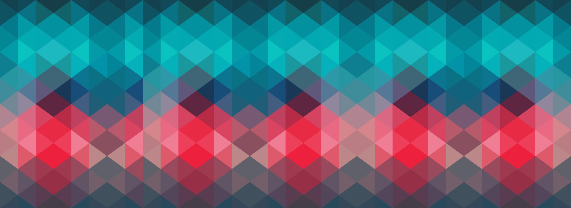 Red blue diamonds pattern background