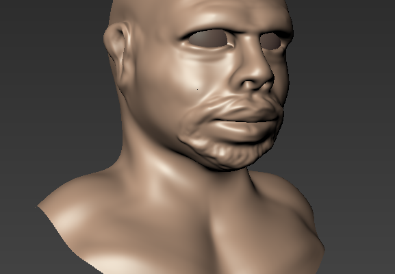 3D sculpted model WIP