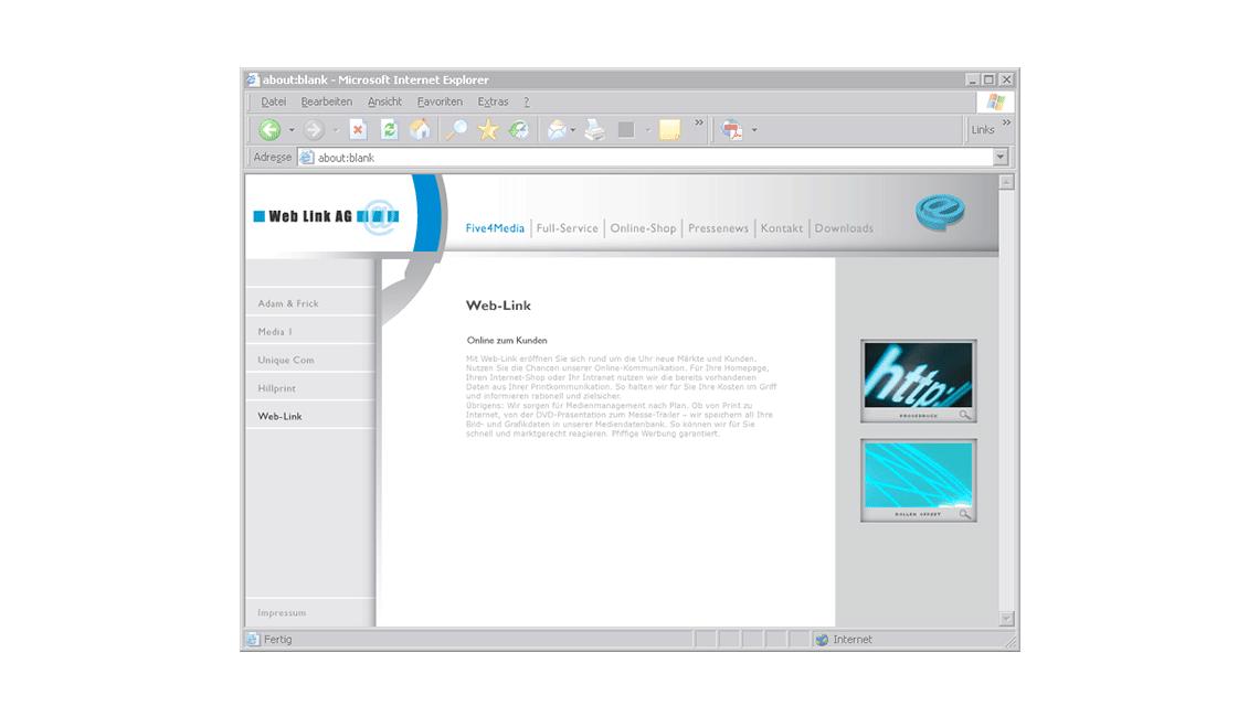 Five4Media-WebLink-AG
