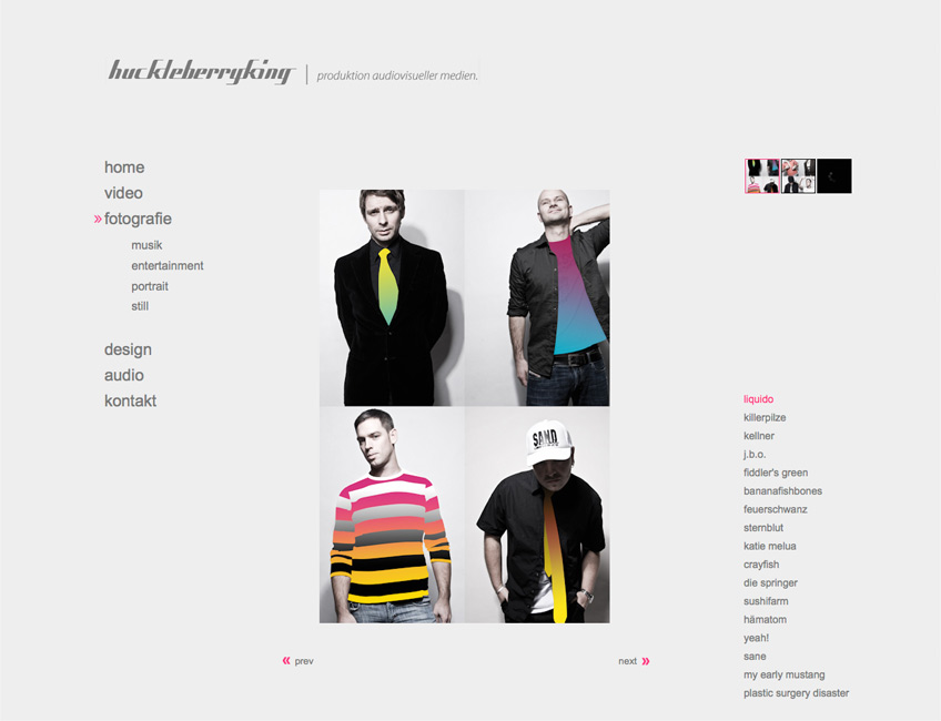 HBK Website 2009 02