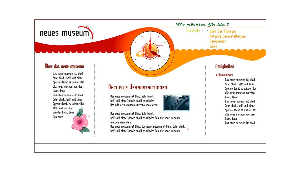 Neues Museum Conceptual